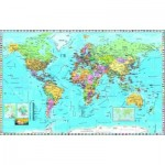 Puzzle  Dino-53248 Map of the World
