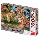 Dino-53277 Secret Puzzle - Tiger Babies