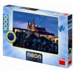 Dino-54116 Neon Puzzle - Prague