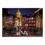 Dino-54124 Neon Puzzle - Amsterdam