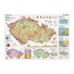 Puzzle  Dino-56117 Map of the Czech Republic