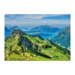 Puzzle  Dino-56313 Swiss mountains