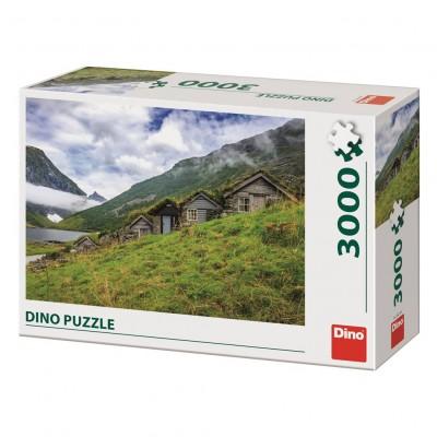 Puzzle Dino-56319 Norangsdalen Valley