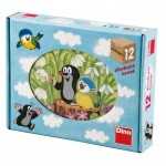 Dino-64112 Wooden Cube Puzzle - The Little Mole
