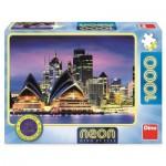 Neon Puzzle - Sydney Opera