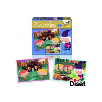 Diset-69963 2 Puzzles Tales and Legends: Goldilocks