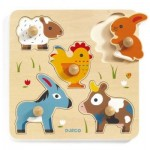 Djeco-01016 Wooden Jigsaw Puzzle - Hihan & Co