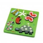 Djeco-01025 Wooden Jigsaw Puzzle - Kimi