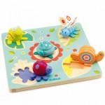 Djeco-01031 Wooden Jigsaw Puzzle - Lilo