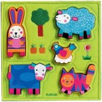 Djeco-01040 Wooden Jigsaw Puzzle - Nouki