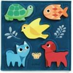 Djeco-01057 Wooden Jigsaw Puzzle - Gataki
