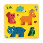 Djeco-01059 Wooden Puzzle - Frimours