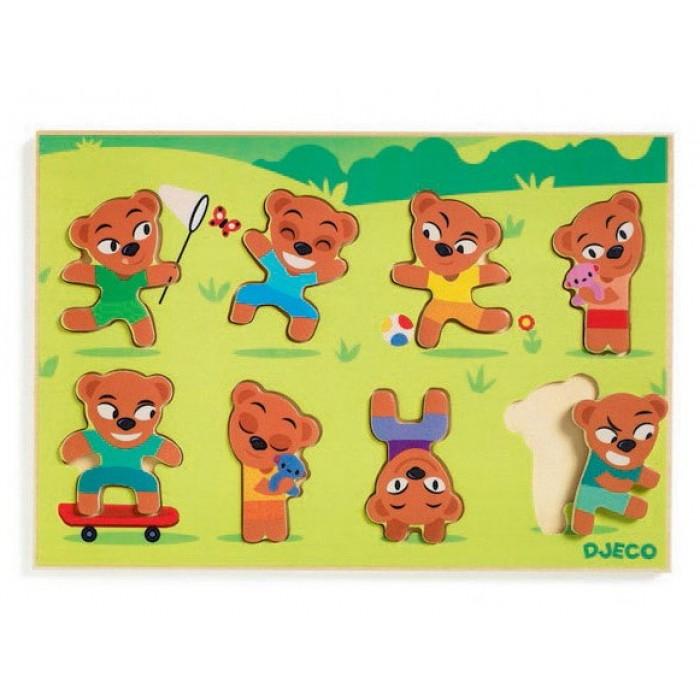 Wooden Jigsaw Puzzle - Teddymatch