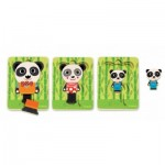 Djeco-01471 Wooden Jigsaw Puzzle - Panda