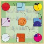 Djeco-01805 Wooden Jigsaw Puzzle - Ludiform