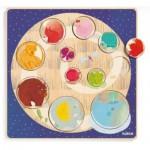 Djeco-01806 Wooden Jigsaw Puzzle - Ludi & Co