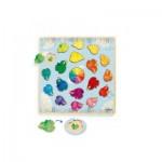 Djeco-01807 Wooden Jigsaw Puzzle - Ludicolori