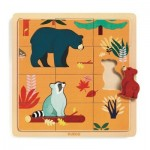 Djeco-01811 Wooden Jigsaw Puzzle - Canada