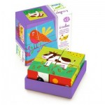 Djeco-01900 Wooden Jigsaw Puzzle - Meuh & Co