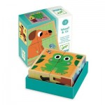 Djeco-01903 Wooden Jigsaw Puzzle - Wouaf & Co