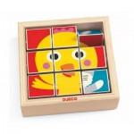Puzzle  Djeco-01954 Tournifarm
