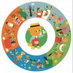 Puzzle  Djeco-07016 XXL Pieces - The Year