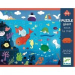 Puzzle  Djeco-07116 XXL Pieces - Under the Sea