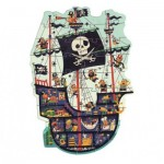 Puzzle  Djeco-07129 XXL Pieces - The Pirate Ship