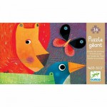 Djeco-07171 Jigsaw Puzzle - 24 Pieces - Giant : Animal Parade