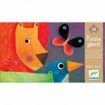 Djeco-07171 Jigsaw Puzzle - 24 Pieces - Giant : Animal Parade
