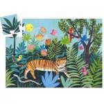 Puzzle  Djeco-07201 Tiger