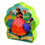 Puzzle  Djeco-07203 Sleeping Beauty