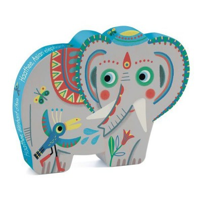 Puzzle Djeco-07208 Haathee Asian Elephant