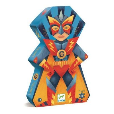 Puzzle Djeco-07228 Laser Boy