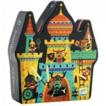 Puzzle  Djeco-07258 Fortified Castle