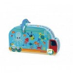 Puzzle  Djeco-07266 The Aquarium