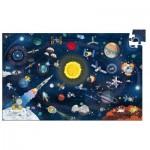 Puzzle  Djeco-07413 Space