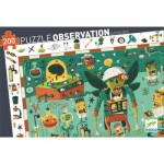 Puzzle  Djeco-07455 Crazy Lab
