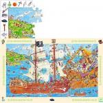 Puzzle  Djeco-07506 Pirates