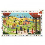 Djeco-07561 Observation Puzzle - Tales