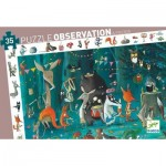 Djeco-07588 Observation Puzzle - The Orchestra