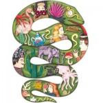 Puzzle  Djeco-07650 Puzz'Art - Boa