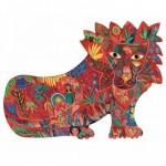 Puzzle  Djeco-07654 Puzz'Art - Lion