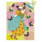 Djeco-07677 Mini Puzzle - Miss Tigri