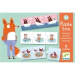 Djeco-08149 Trio Puzzle - Stories