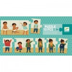 Puzzle  Djeco-08178 I'm dressing up