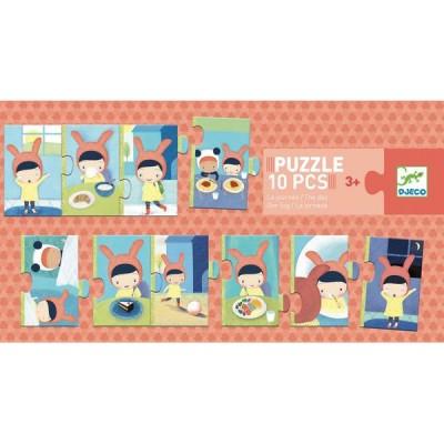 Puzzle Djeco-08179 The Day