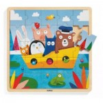 Wooden Frame Puzzle - Puzzlo Boat