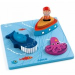 Wooden Jigsaw Puzzle - 1,2,3 Moby