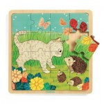 Wooden Jigsaw Puzzle - Garden